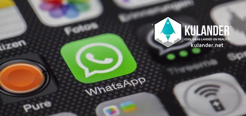WhatsApp comenzó a suspender cuentas.