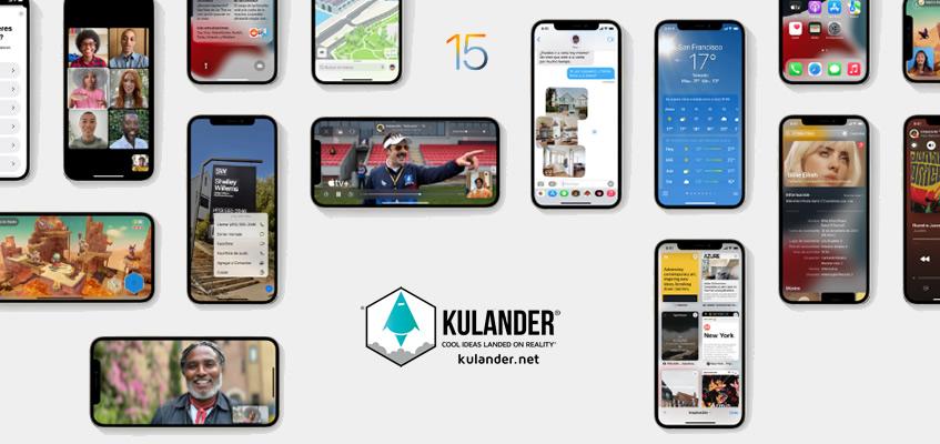 Ya está disponible la nueva actualización iOS 15